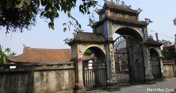 đình cổ làng Mộ Trạch - Hải Dương