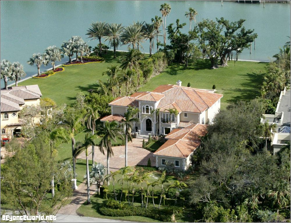 Beyonce's and Jay-Z mansion in Miami