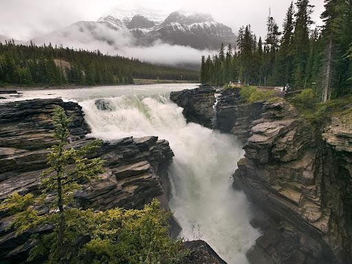 Athabasca Falls, Jasper National Park, Alberta, Canada.jpg