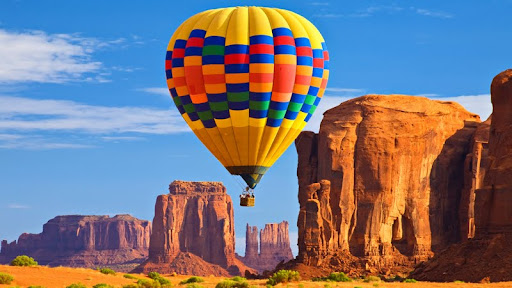 Ballooning Through The Monuments, Monument Valley, Arizona.jpg