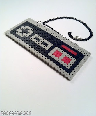 NES Controller Necklace by RAWRmonster