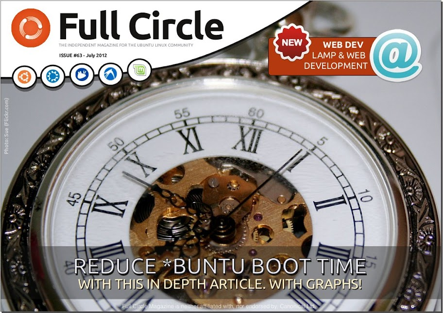 Full Circle Magazine Issue 63 is available in aisle four