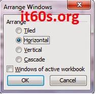 Cách tùy chỉnh cửa sổ làm việc của bảng tính Excel 5