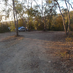 Turning area and campsite