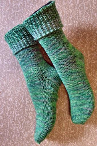 Socken auf Singer