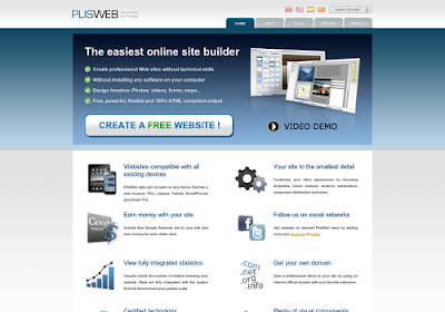 Plisweb.com free online website builders