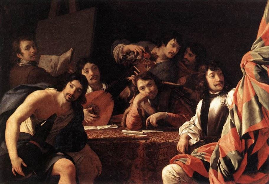 Eustache Le Sueur - A Gathering of Friends