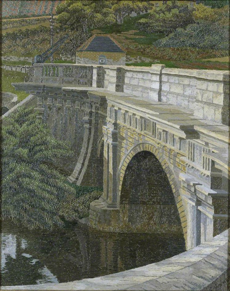 Charles Ginner - The Aqueduct, Bath