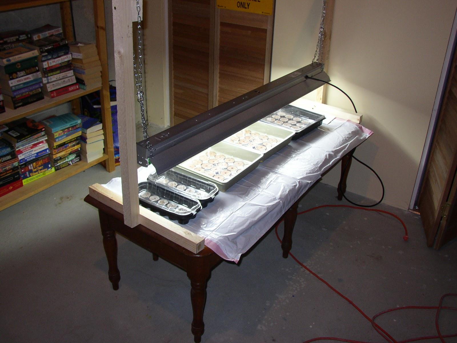 A DIY Grow Light Stand