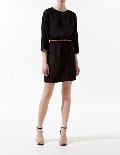 Teardrop tunic dress