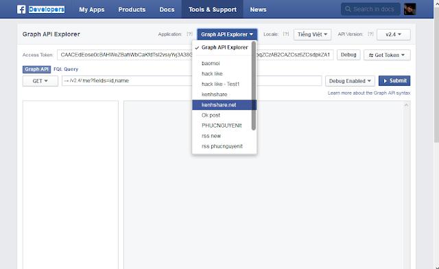 tự động đăng tin lên facebook 2015