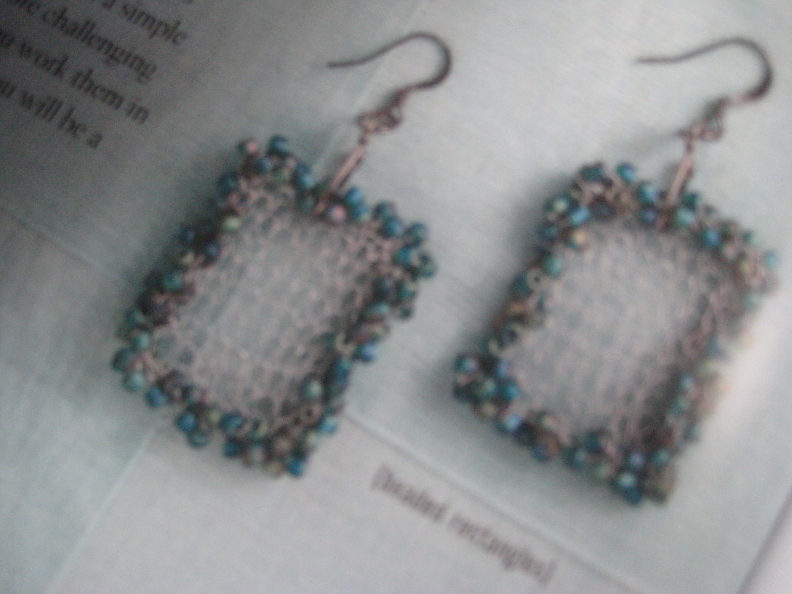 Knitting With Wire And Beads Patterns : Alankarshilpa knitting with beads and wire