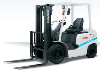 Xe nâng diesel TCM 1.8 tấn