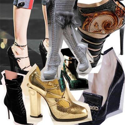 O que a moda promete para os calçados femininos*