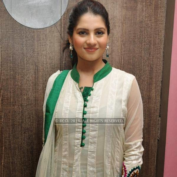 Payel Sarkar during the premiere of bengali film Bindaas at Navina in Kolkata.