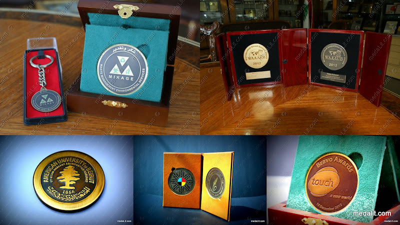 Absi Custom-Made Classic Bronze Medals
