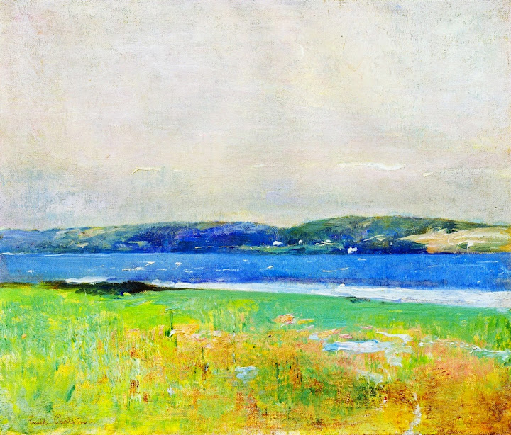 Emil Carlsen - By the Shore