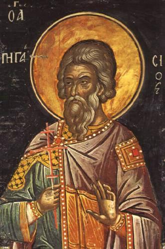 The Holy Martyrs Acindynus Pegasius Aphthonius Elpidephorus And Anempodistus