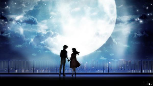 ảnh đêm trăng tình yêu