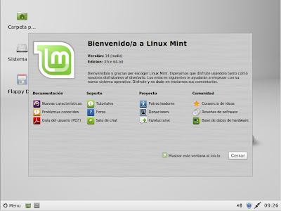 LinuxMint14 - 2