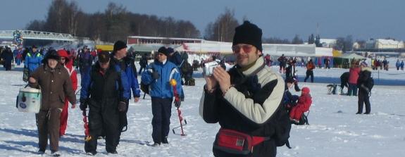 Start van de suurpilkki in Tornio