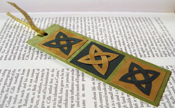 Celtic bookmark photo