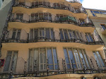 The view of Casa Batillo from the lower courtyard
