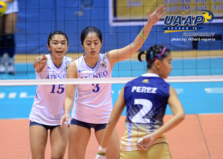 UAAP Women's Volleyball Round 2 ADMU vs. NU Winner Results 01-27-2013  UAAP Women's Volleyball   ADMU vs. NU