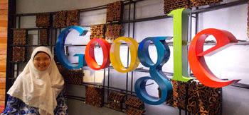 Berkunjung ke kantor google Indonesia