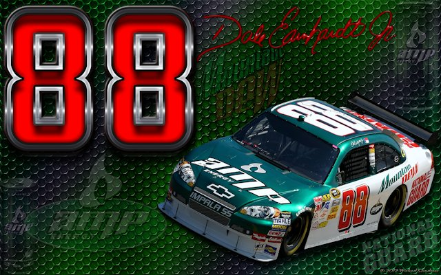 Dale Earnhardt Jr Logo Grid Wallpaper