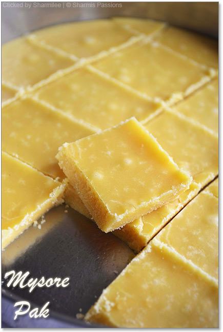 Mysore Pak Recipe Soft Krishna Sweets Style Mysore Pak