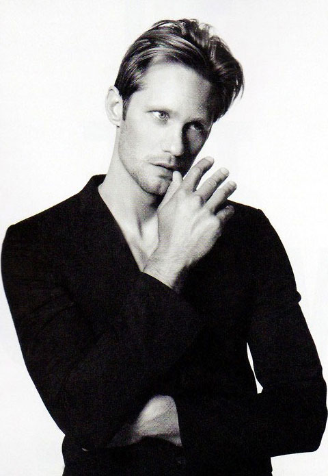 Alexander Skarsgård by Bjarne Jonasson and styled by Way Perry for Wonderland mag's September 2011 issue.