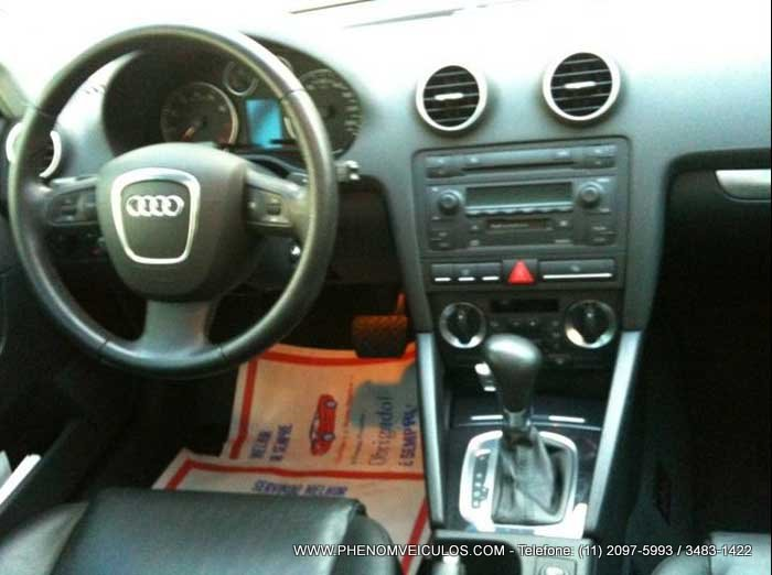 Audi A3 2007 Turbo S-Tronic interior- Preço R$ 73.000 reais