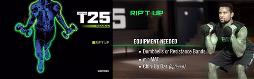 fill me with meaning: Focus T25: Rip't Up