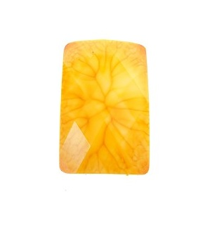 Acrylic Faceted Rectangle Cabochon