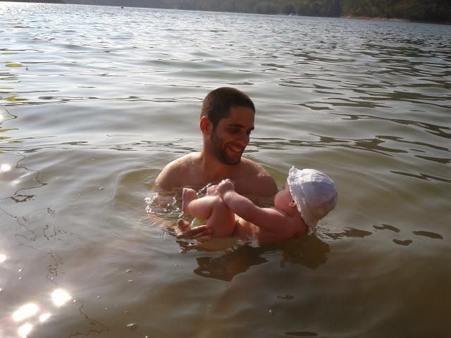 Na água