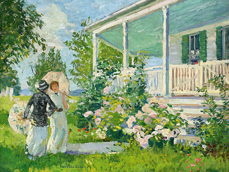 Gifford Beal - Summer Cottage, 1915