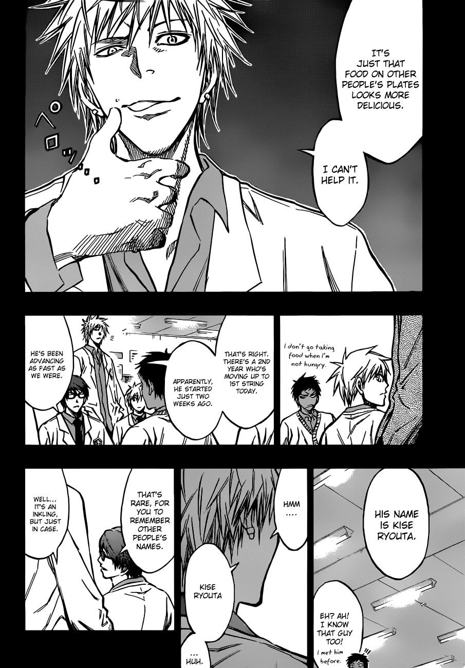 Kuroko no Basket Manga Chapter 171 - Image 02
