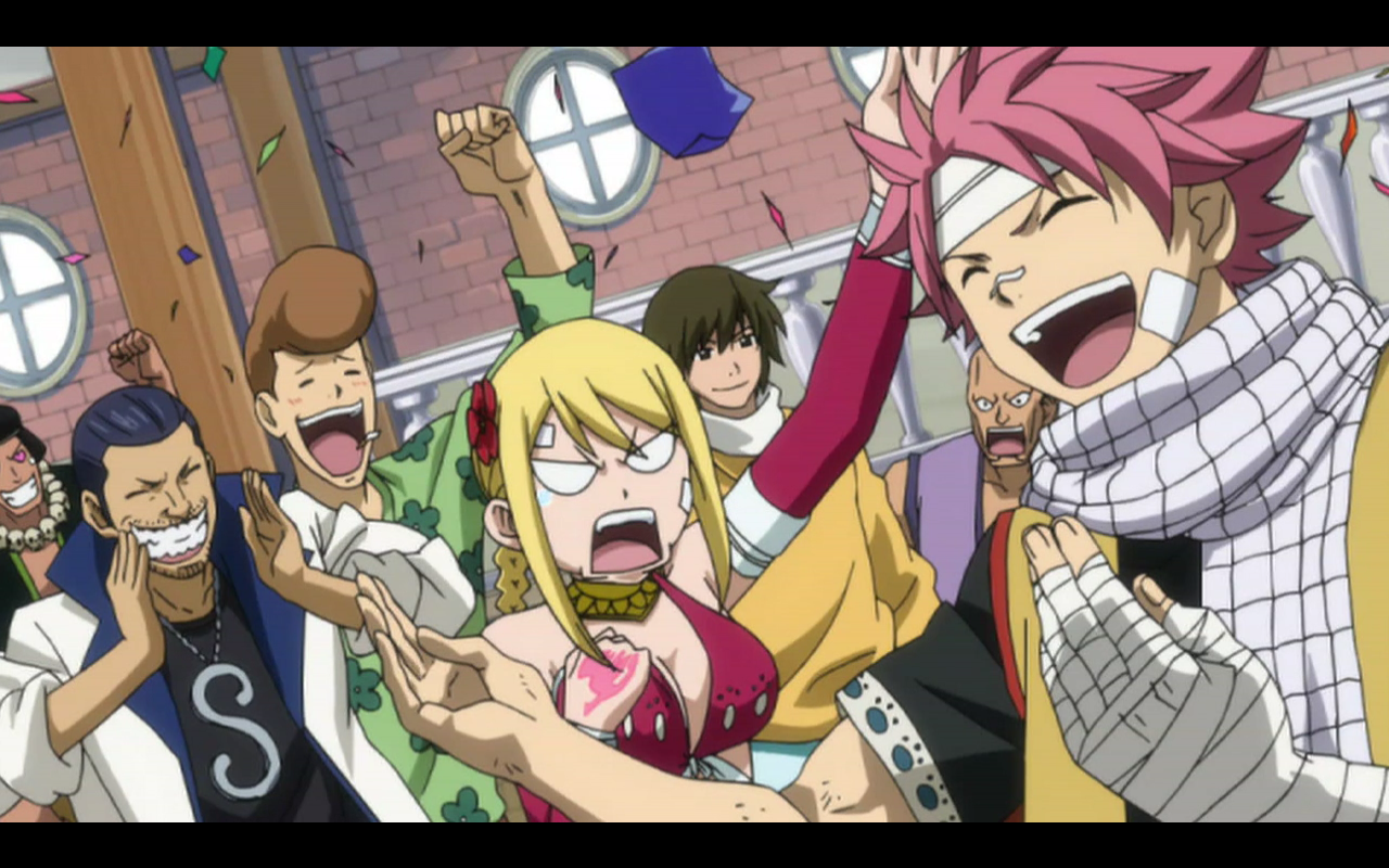 Anime Reviews: Fairy Tail Episode 69 – Call of the Dragon