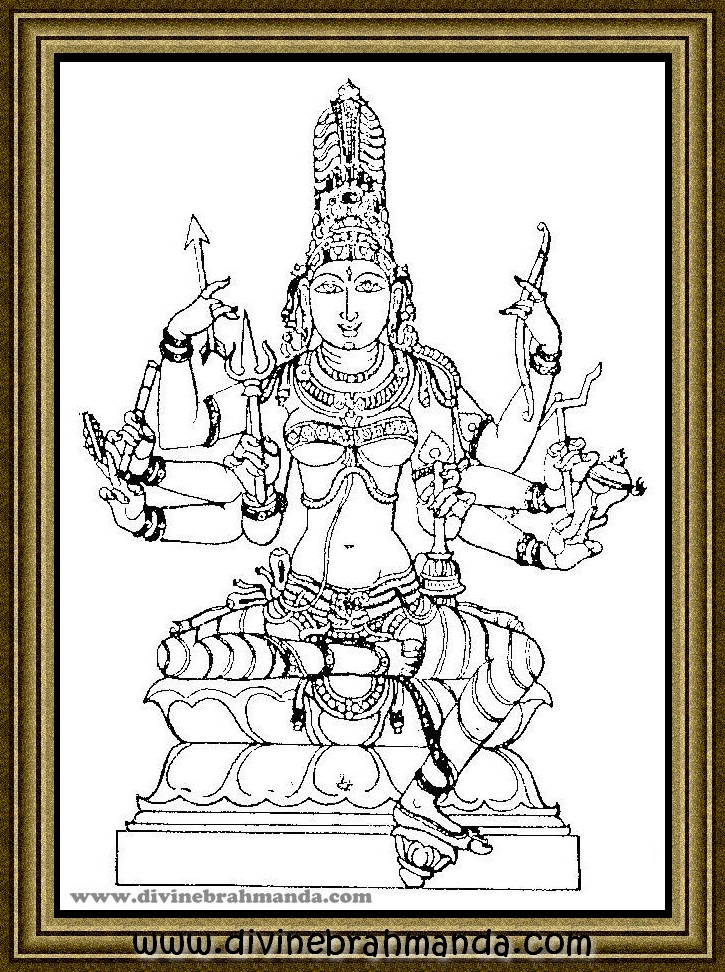 Soundarya Lahari Sloka, Yantra & Goddess For Removal of all Fears, Curing of Diseases - 04