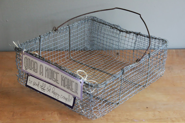 Rectangular wire basket available for rent from www.momentarilyyours.com, $3.
