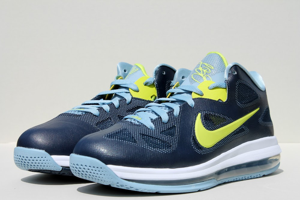 1c7280fef3 ... Available Now Nike LeBron 9 Low 8220Obsidian Cyber8221 ...
