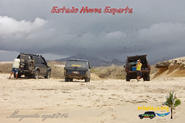 Playa Guereguere NE083, Estado Nueva Esparta, Macanao, Land Rover 4x4