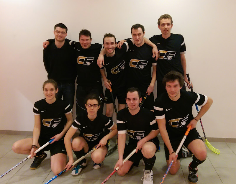 Photo de l'équipe Caen Floorball 2 à Nantes