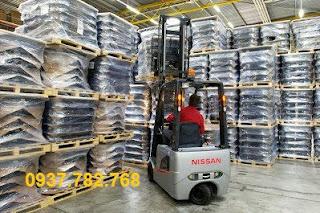 Xe nâng điện 1.5 tấn Nissan