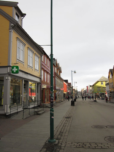 De wandelwinkelstraat