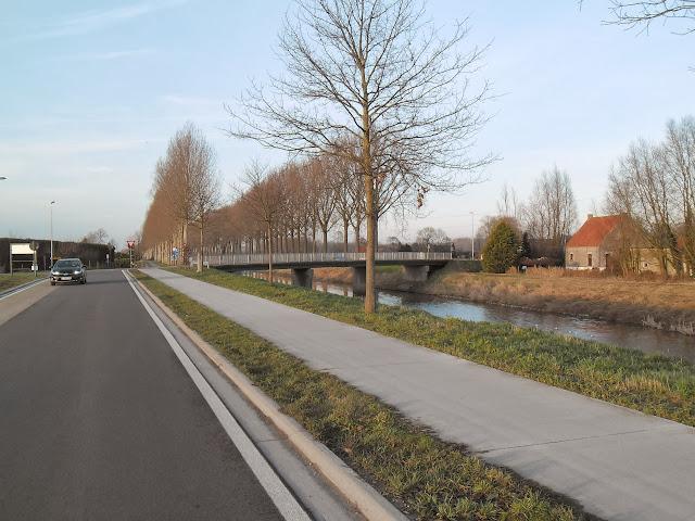 Schipdonkkanaal Deinze - Eeklo (Fietssnelweg F422) - Knokke (of Afleidingskanaal van de Leie) Zondag%2520031