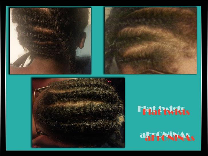 Flat twists, cabello afro, peinados, estilo peinado, cabello afro