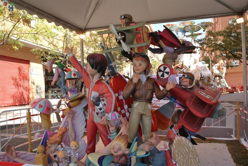 Hoguera La Ceràmica / Sección especial Infantil