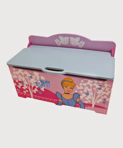 Large Disney Cinderella Princess Toy Chest toy box